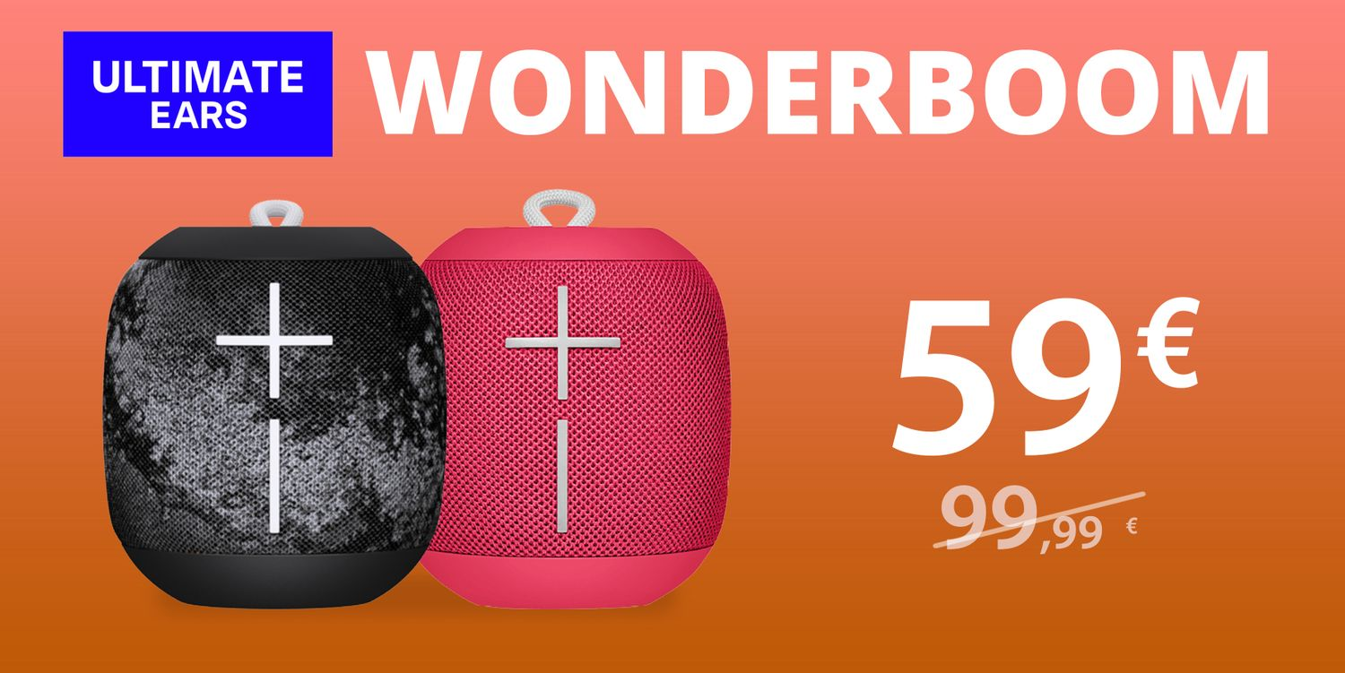 WONDERBOOM a 59€