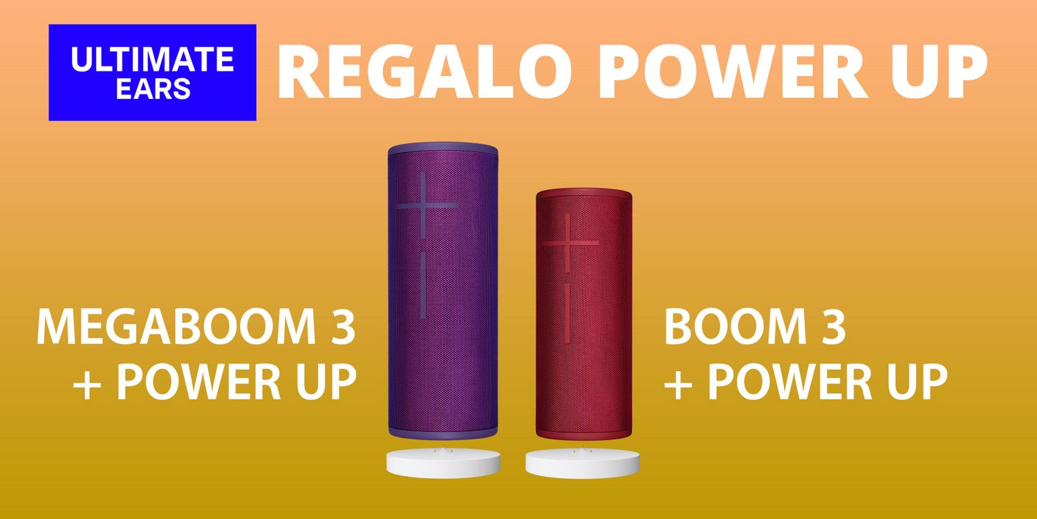 Promo regalo power up ultimate ears
